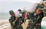 Chiều tối 10-11, bão số 6 đi vào các tỉnh Quảng Ngãi đến Khánh Hòa