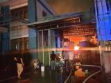 Cháy lớn tại cơ sở sản xuất đồ gỗ
