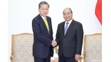 越南政府总理阮春福会见东亚共同体研究所理事长鸠山由纪夫