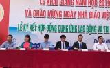 Trường Cao đẳng Nghề TP.Hồ Chí Minh, cơ sở tại Trung tâm Giáo dục nghề nghiệp quản trị Bình Dương: Khai giảng năm học 2019-2020