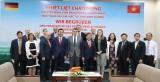 Lãnh đạo tỉnh tiếp Đoàn Nghị sĩ Quốc hội Bang Hessen, Cộng hòa Liên bang Đức