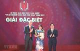Giải Báo chí toàn quốc Vì sự nghiệp giáo dục vinh danh 44 tác phẩm