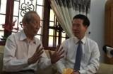 Trưởng ban Tuyên giáo Trung ương thăm, chúc mừng nhà giáo tiêu biểu