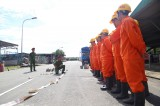 槟吉市推动企业的消防工作