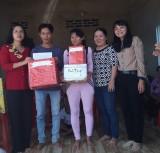 Trao nhà đại đoàn kết cho hộ nghèo ở tỉnh Bình Phước
