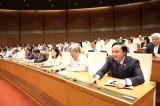 Quốc hội tán thành giảm số lượng cấp phó của HĐND cấp huyện