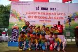 Ấn tượng ngày khai mạc giải bóng đá Nhi đồng Bình Dương 2019