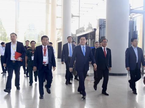 Phó Thủ tướng Chính phủ Vương Đình Huệ dự khai mạc Diễn đàn Hợp tác kinh tế châu Á Horasis Bình Dương 2019