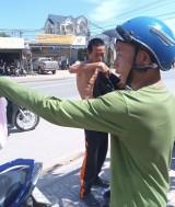 Trích xuất camera an ninh xác minh tài xế lái xe ben chém trọng thương người đi đường