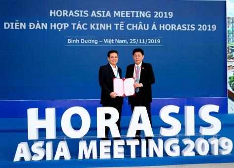 Ban tổ chức Horasis 2019 trao thư cảm ơn Công ty Cổ phần thực phẩm dinh dưỡng Nutifood