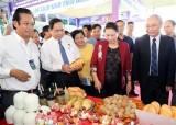 国会主席阮氏金银出席2019年芹苴国际旅游博览会