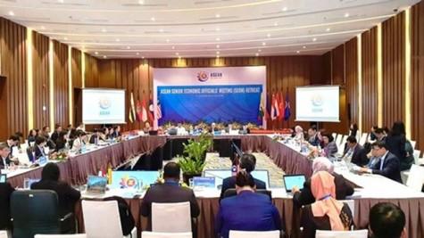 东盟高级经济官员非正式会议在下龙市举行