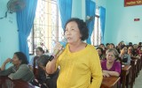 Cử tri phường Tân Phước Khánh: Kiến nghị một số vấn đề xung quanh dự án đất đai…
