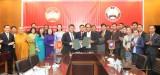 平阳省越南祖国阵线与占巴塞省老挝建国阵线:加紧团结友谊及有效合作