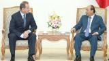 越南政府总理阮春福会见俄罗斯联邦国民警卫队总指挥