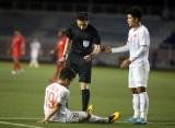 Quang Hải bị rách cơ đùi, có khả năng chia tay SEA Games 2019