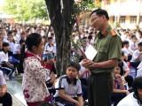 Phường đoàn Phú Thọ (TP.Thủ Dầu Một): Tuyên truyền kỹ năng tự vệ cho học sinh