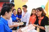 青年就业介绍节以及大学生与交通文化节开幕