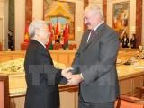 Tăng cường quan hệ hữu nghị hợp tác nhiều mặt Việt Nam-Belarus