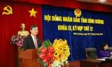 Ông Võ Văn Minh, Ủy viên Thường vụ Tỉnh ủy, Chủ tịch HĐND tỉnh: Phần trả lời chất vấn của các Ủy viên UBND tỉnh đi vào trọng tâm, giải trình nghiêm túc