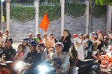 Người Bình Dương vui ngất ngây mừng chiến thắng của đội tuyển U22 Việt Nam