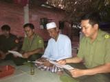 Công an xã Minh Hòa, huyện Dầu Tiếng: Phối hợp tuần tra, giữ gìn an ninh trật tự