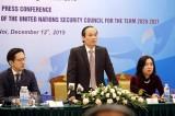 Việt Nam sẵn sàng cho vai trò Chủ tịch Hội đồng Bảo an Liên hợp quốc