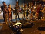 Tai nạn giao thông giữa 2 xe máy và ô tô, 1 người tử vong