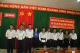 Đoàn công tác Vùng 5 Hải quân thăm, chúc Tết quân dân trên các đảo Tây Nam