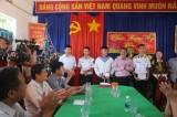 Đoàn công tác các tỉnh, thành phía Nam: Thăm, tặng quà cán bộ, chiến sĩ Đảo Thổ Chu