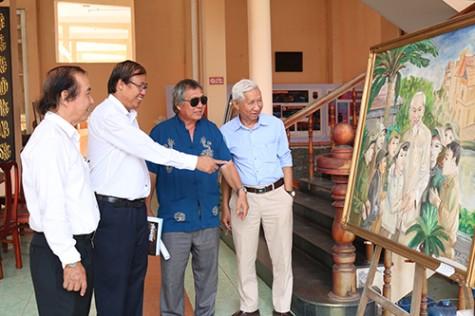 Binh Duong fine art turns towards national sea and islands