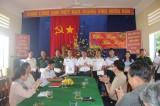 Đoàn công tác các tỉnh, thành phía Nam: Thăm, tặng quà cán bộ, chiến sĩ đảo Hòn Đốc