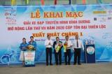 Khai mạc Giải xe đạp Truyền hình Bình Dương mở rộng lần VII - Cúp Tôn Đại Thiên Lộc