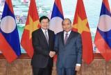Lao PM concludes Vietnam visit