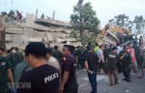 Cambodia: At least seven killed in building collapse