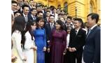 越南学生传统日70周年纪念典礼在河内举行