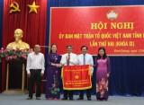 MTTQ Việt Nam tỉnh: Vận động nhân dân thực hiện hiệu quả các phong trào thi đua yêu nước