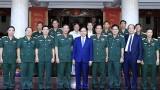 越南政府总理阮春福视察第九军区备战工作