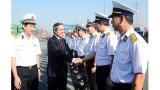 把西贡新港建设成为越南一流物流服务与海洋经济的国防经济集团