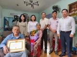 Tỉnh ủy Bình Dương: Trao Huy hiệu 60 năm tuổi Đảng cho đồng chí Lê Quốc Duy