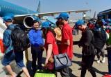 Hơn 1.000 người lao động tiêu biểu được bay miễn phí về quê đón Tết