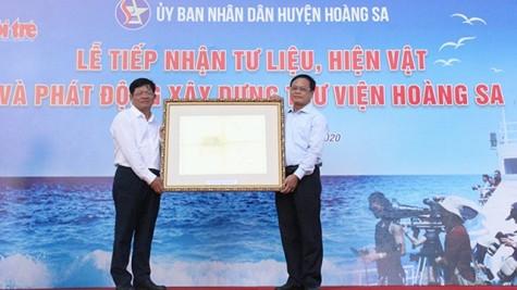 岘港市接受证明越南对黄沙群岛拥有主权的实物和资料