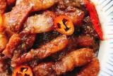 Thịt kho mắm ruốc