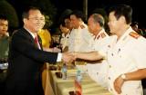 Một số hình ảnh lãnh đạo tỉnh chúc tết cán bộ, chiến sỹ Bộ Chỉ huy Quân sự tỉnh và Công an tỉnh