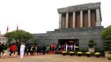 春节期间胡志明陵接待游客人数逾2.5万人次