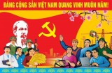 90 năm đất nước đi lên dưới lá cờ vẻ vang của Đảng