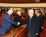 Politburo meets with former senior leaders of Party, State