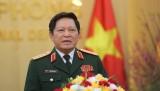 越南高级军事代表团对俄罗斯进行正式访问