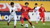2020年东京奥运会女足预选赛第三轮比赛:越南女足队以1比0击败缅甸女足队