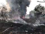 Lại xảy ra cháy bãi rác tại phường Thuận Giao